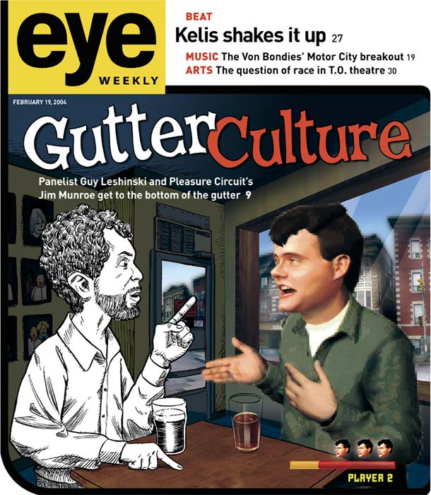 Eye Magazine cover by Marc Ngui